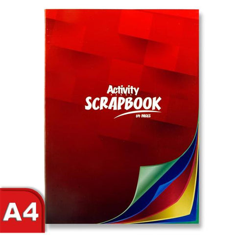 Premier Activity Scrapbook A4 64 Pages