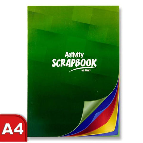 Premier Activity Scrapbook A4 48 Pages