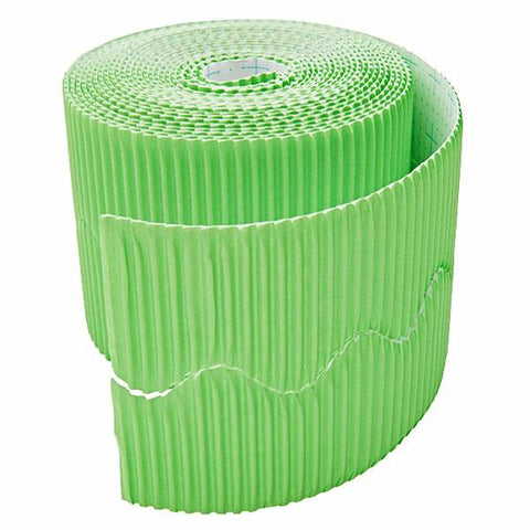 Bordette Corrugated Display Roll - Nile Green (2 x 7.5m) 15 Metres