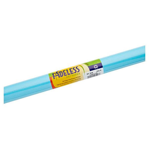 Fadeless Paper Roll Sky Blue 121.9cm x 3.6m