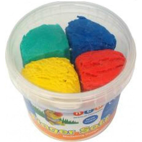 Newclay Finger Soft Dough 4-Colour Tub 900g (4 x 225g)