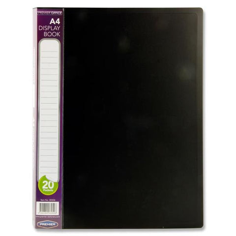 Premier Office A4 20 Pocket Display Book