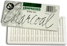 Jakar Compressed Charcoal White Set of 12