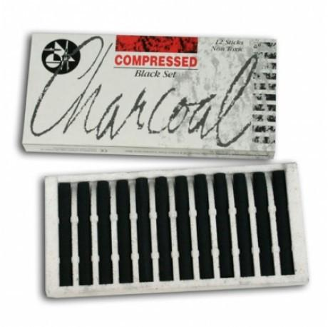 Jakar Compressed Charcoal Black Set of 12