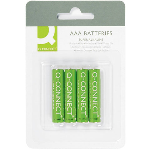 Q-Connect AAA Battery (4 Pack)