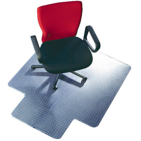 Q-Connect Chair Mat PVC 1143 x 1346mm Clear