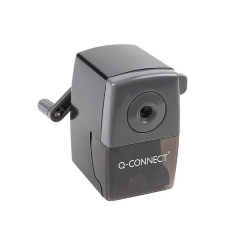 Q-Connect Black Desktop Pencil Sharpener