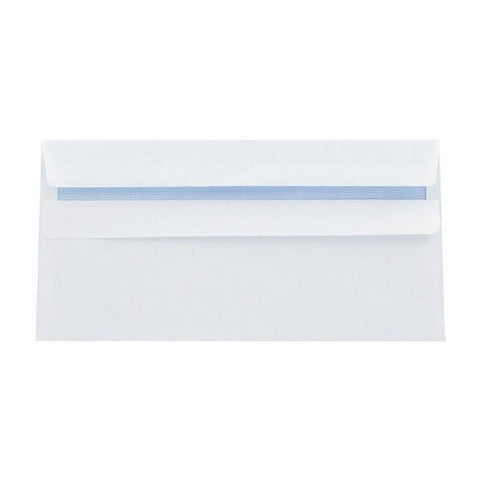 Supreme DL Envelopes 80gsm Plain Peel and Seal White (Pack of 1000)