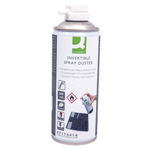 Q-Connect HFC Free Air Duster 200ml Invertible HFC