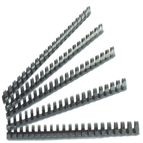 Q-Connect Black 12mm Binding Combs (Pack of 100) KF24022