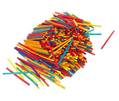 Matchsticks Coloured - 1000 Pack