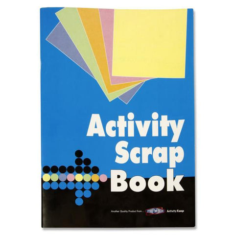 Premier Activity Scrapbook 240 x 345mm 32 Pages