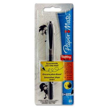 Papermate Replay Max Erasable Pen - Black