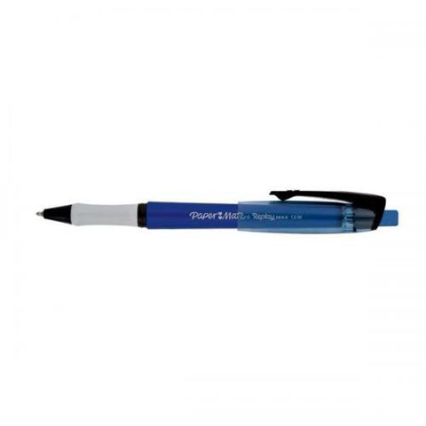Papermate Replay Max Erasable Pen - Blue