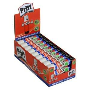 Pritt Stick Glue Sticks Bulk Class Pack Box 25 11gm