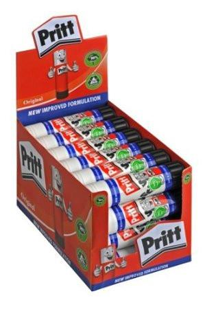 Pritt Stick Glue Sticks Bulk Class Pack Box 24 43gm