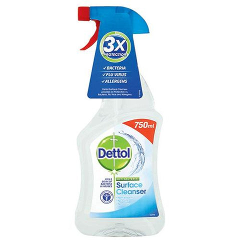Dettol Anti-Bacterial Surface Cleanser Spray 750ml.