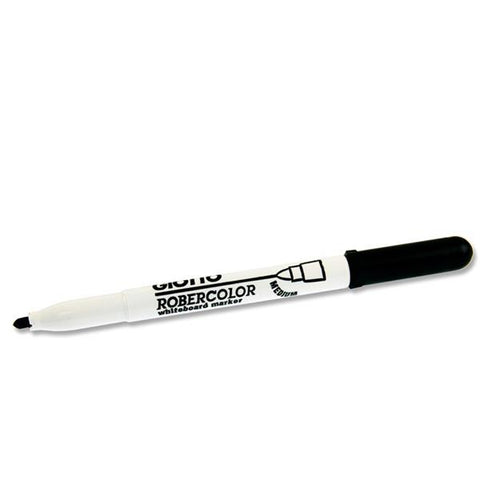 Giotto Robercolor Medium Bullet Point Whiteboard Marker - Black