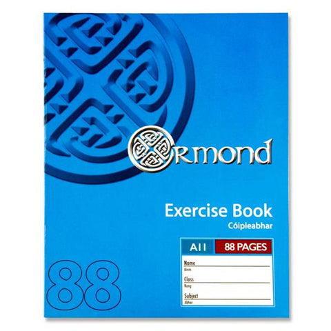 Ormond A11 Exercise Book - 88 Page