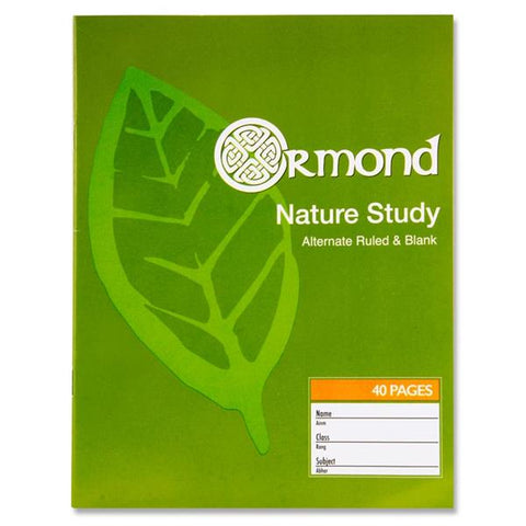 Ormond Nature Study Copy - 40 Pages