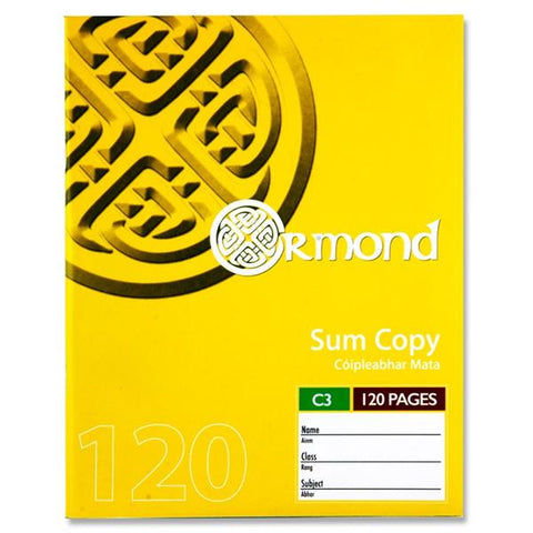 Ormond C3 Sum Copy 120 Pages