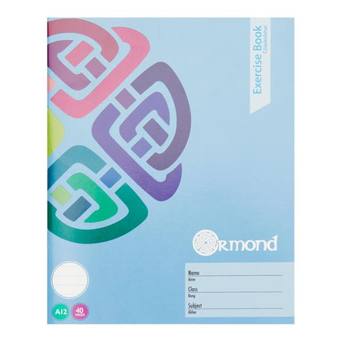 Ormond A12 Exercise Copy Book 40 Pages
