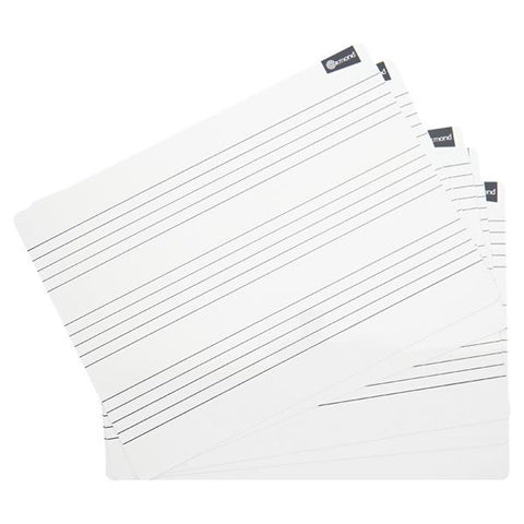 Ormond Dry Wipe Boards Set of 10 - Music
