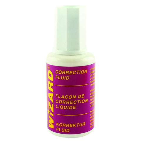 Wizard Correction Fluid 20ml (Pack of 10)