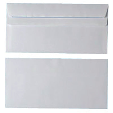 Envelopes DL 80gsm Self Seal White (Pack of 1000) WX3454