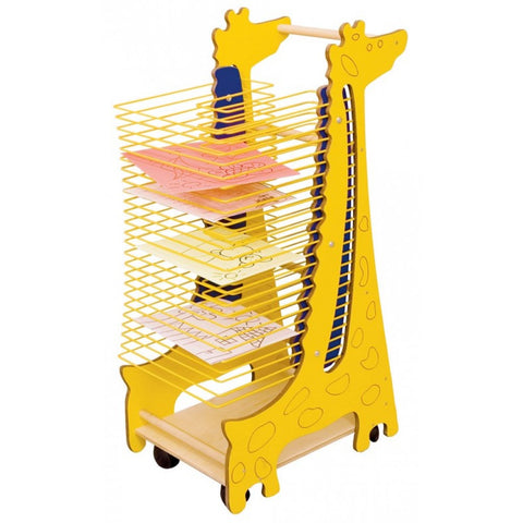 Mobile Art Drying Rack - Giraffe