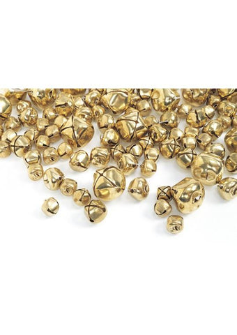 Gold Jingle Bells - 150 Pieces