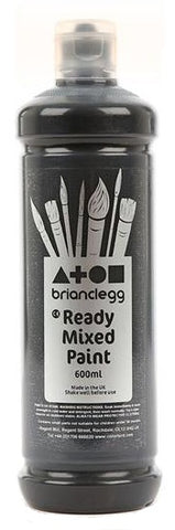 Black - BC Ready Mixed Paint 600ml