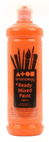 Orange - BC Ready Mixed Paint 600ml