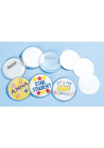 Designer Badges (Buttons) - Set of 24