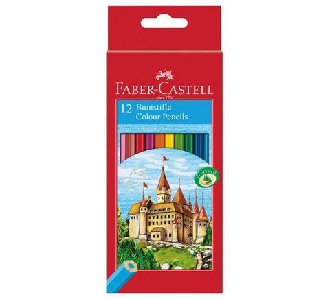 Faber-Castell Colouring Pencils - Pack of 12