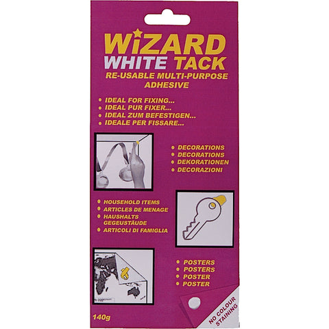 Wizard White Tack 140gm