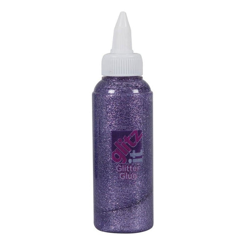 Glitter Glue (120ml) - Soft Lavender