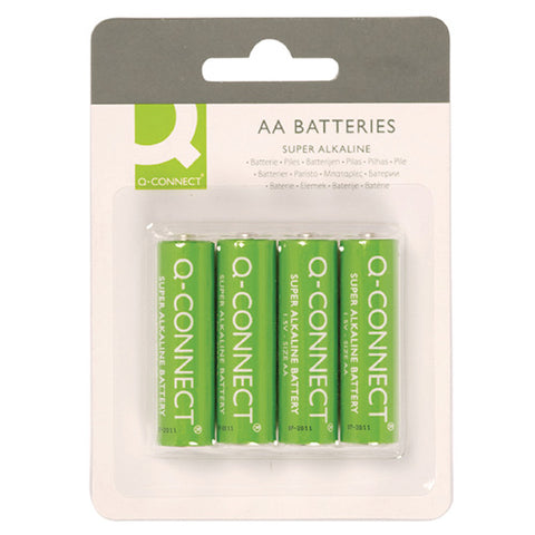 Q-Connect AA Battery (4 Pack)