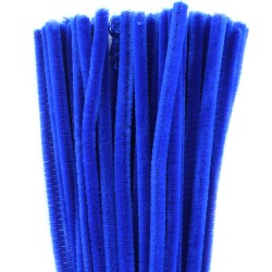 Pipe Cleaners - Dark Blue - 30cm Pack of 50