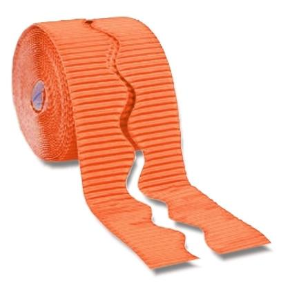 Bordette Corrugated Display Roll - Orange (2 x 7.5m) 15 Metres