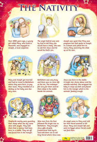 Poster 60cm x 40cm - The Nativity