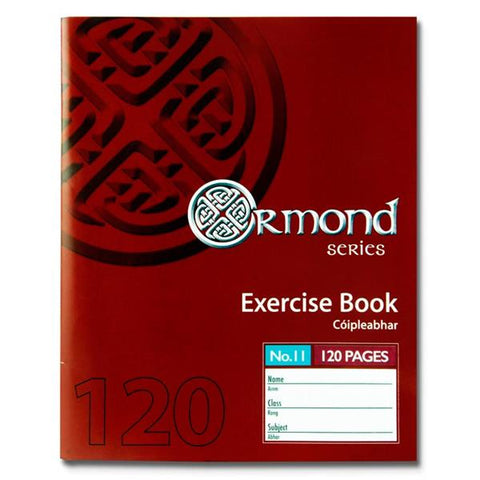 Ormond No.11 Copy 120 Pages