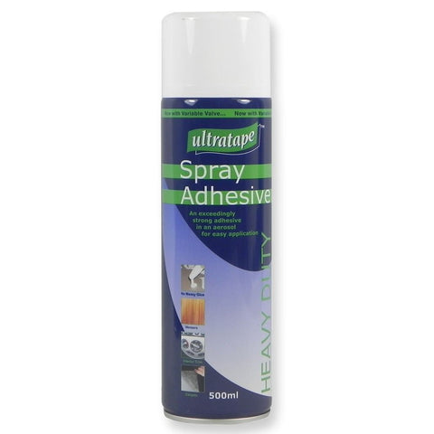 Ultratape Spray Adhesive Heavy Duty 500ml Aerosol