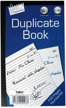 Just Stationery Full Size Duplicate Book - 100 Pages