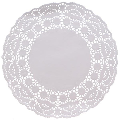 "Doilies - White 9.5"" - Pack of 250"