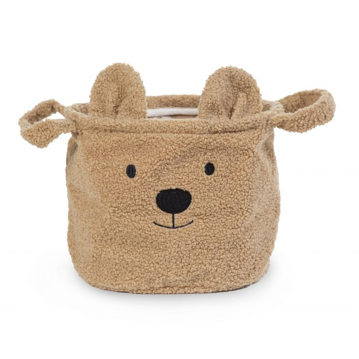 Childhome Teddy Storage Basket 25x20x20cm- Beige