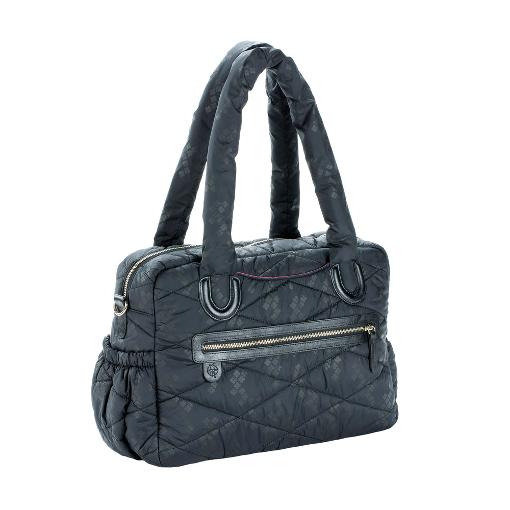Lassig Baby Bag Glam Pacific Flower Black