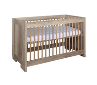 Lodge Grey Oak Cot 60x120