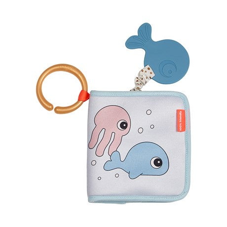 Bath Time Book Sea Friends- Multi Color