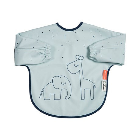 Long Sleeve Bib 6-18m Dreamy Dots